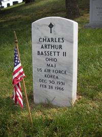 Bassett headstone, front