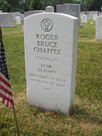Chaffee headstone, front
