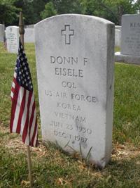 Eisele headstone, front