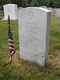 Irwin headstone, front