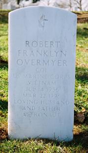Overmyer headstone