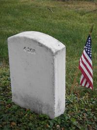 See headstone, back