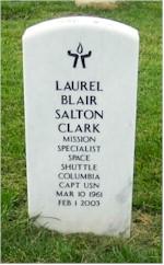 Clark headstone front