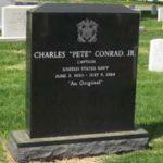 Conrad headstone front
