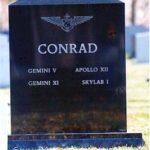Conrad headstone back