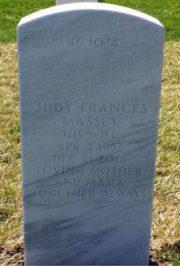 Hartsfield headstone back