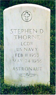 Thorne headstone front